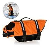 Jayboson Hundeschwimmweste Doggy Aqua-Top Schwimmweste Schwimmtraining Schwimmhilfe für Hunde Vest...