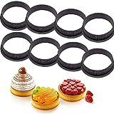Alivier Silikon Backform Runde Form Mousse Kreis Ring Gebäck und Backenwerkzeuge für die...