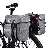 ICOCOPRO Fahrrad Doppeltasche, Double Bag, Gepcktrgertasche, Satteltasche,Seitentasche, Wasserdicht,...