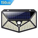 Solarleuchte für Außen,[2200mAh Aufgerüstet Version] kilponen 150 LED Solarlampen Außen mit...