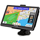 Jimwey Navigationsgerät für Auto Navi LKW Navigation 7 Zoll 16GB Lebenslang Kostenloses...