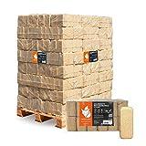PALIGO Holzbriketts Ruf Nadelholz Kamin Ofen Brenn Holz Heiz Brikett 10kg x 96 Gebinde 960kg / 1...