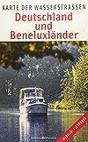Deutschland und Beneluxländer: Karte der Wasserstraßen: Karte der Wasserstraen