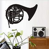 Tianpengyuanshuai Cartoon Musik wandaufkleber Aufmerksamkeit Posaune Instrument wandaufkleber...