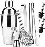 HNaGRDMMP Bar Set 7-teiliges Mixology Barmixer Kit - Cocktail Shaker Set Bar-Werkzeug-Set for Home...