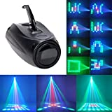 U`King LED Muster Partylicht, 64LED RGBW Lichteffekt Akustisch Gesteuerte Stadiums Licht...