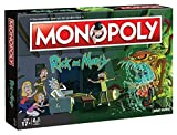 Winning Moves WIN45069 Monopoly - Rick and Morty Rick & Morty Brettspiele