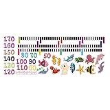 SeniorMar-UK Home Set Schöne Cartoon Muster Baby Kind Wachstum Höhe Maß Tabelle Wandaufkleber...