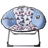 Blau/Pink Eiscreme Camping Hundebett erhöht, Hundestuhl Moon Recliner, Outdoor Folding Kinderstuhl...