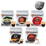 Tassimo Kaffee Espresso Selektion - Jacobs Espresso Classico / Gevalia Espresso / Marcilla Espresso...
