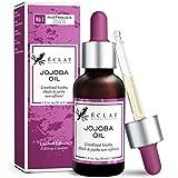 Kaltgepresstes Bio Jojobaöl für weicheres Haar, Haut und gesündere Nägel - 100% veganes, rein...
