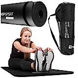 Hop-Sport Gymnastikmatte NBR180x61cm in Zwei Stärken/Fitnessmatte ist rutschfest und verformt...