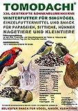 Tomodachi Papageiensnack, Sonnenblumenkerne extragroß, Sittichfutter, Wellensittich,...
