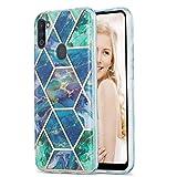 Marmor Schutzhülle für Samsung Galaxy A11/M11 Marmor Muster IMD Weich Flexibel Silikon Hülle...