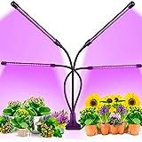 JZH Pflanzenlampe LED Grow Lampe Mit Timer 40W PflanzenleuchteLED Grow Light Wachsen Dimmbar 3 Modi...