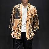 RSL China Wind Kran Sleeve Robe männlich Paar große Yards japanische Kimono Strickjacke dünne...