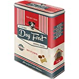 Nostalgic-Art Retro Vorratsdose XL PfotenSchild Food – Geschenk-Idee für Hunde-Besitzer,...