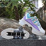 KMDB 2-in-1-Parkour-Schuhe/Skate-Schuhe, Schuhe Mit Rädern Für Mädchen/Jungen, Rollschuhe,...