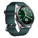 Shengyaju Smart Watch 4,6 cm TFT-Farbdisplay IP67 Wasserdicht Bluetooth Armband mit Herzfrequenz...