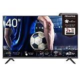 Hisense 40AE5500F 100cm (40 Zoll) Fernseher (Full HD, Triple Tuner DVB-C/ S/ S2/ T/ T2, Smart-TV,...