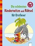 Die schönsten Kinderwitze und Rätsel für Erstleser: Der Bücherbär: Kleine Geschichten...