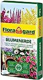 Floragard Blumenerde 70 Liter - verbesserte Rezeptur - Universalerde fr Zimmer-, Balkon- und...
