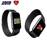 Aabbcdf Fitness-Tracker, Smartwatch, wasserdicht, Sportuhr, Aktivitätstracker, Smart-Armband, mit...