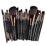 Make-up-Pinsel-Set, Nylon, multifunktional, für Grundierung, Rouge, Lidschatten, Lippen, Kosmetik