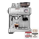 Gastroback 42619 Design Espresso Advanced Barista, programmierbare Siebtrger-Espressomaschine mit...