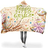 Rinvyintte leicht Hoodie Wearable Super Soft Throw Blanket Fühlen Sie Sich gut für Heimsofa in...