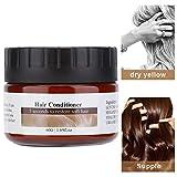 60g Haarmaske, Nourishing Moisturizing Repair Damaged Hair Conditioner fr Haarpflege und trockenes,...
