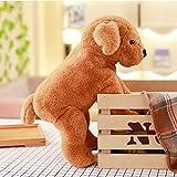 not Cartoon Labrador Plüschtier, Gefüllte Plüschtier-Hundepuppen, Baby Sleepping Appease Toy,...