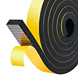 Schaumstoff Selbstklebend 25mm(B) x10mm(D) Schaumstoff Dichtungsband Fenster-Türdichtung kochheld,...