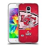 Head Case Designs Offizielle NFL Kansas City Chiefs 2020 Super Bowl LIV Champions Soft Gel Huelle...