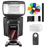 Neewer TT560 Flash Speedlite mit 12 Farbfiltern und IR Drahtlose Fernbedienung Kit für Canon Nikon...