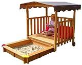 GASPO 310375 - Spielhaus mit Sandkasten