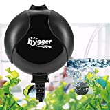 Hygger Sauerstoffpumpe für Aquarium, Superleise Aquarium Luftpumpe Geräusch niedriger als 33db...