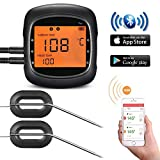 Habor 6 Ports Grillthermometer Bluetooth Ofenthermometer Digital Steak Thermometer Großes Display...
