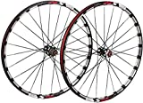 GAOTTINGSD Fahrradfelge Fahrrad Wheelset, 26/27.5 in Fahrrad Orne Hinterrad Alufelge MTB Laufrad...