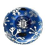 fajwskjw Snow Frostblitz, aufblasbarer Schlitten im leichten & platzsparenden Design Geschenke für...