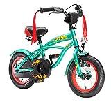 BIKESTAR Premium Sicherheits Kinderfahrrad 12 Zoll fr Jungen ab 3-4 Jahre | 12er Kinderrad Cruiser |...