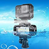 20 Leds 40M Wasserdichtes Ipx8 Studio Light Video, Fotolicht Mit Blitzschuh-Adapter,...