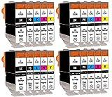 SupplyGuy 20 Druckerpatronen kompatibel mit Canon PGI-5 CLI-8 Multipack für Pixma IP4200 IP4200...
