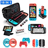 Hestia Goods Nintendo Switch Zubehr Set  Zubehrsets Bundle fr Nintendo Switch, Tasche,...