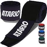 ATARIO Premium Boxbandagen mit Transportnetz [3m/4,5m] – Bandagen Boxen mit Daumenschlaufe –...
