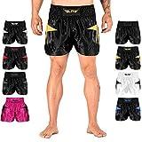 Elite Sports Muay Thai MMA Kickboxen Shorts Kickboxen Muay Thai Training Shorts für Damen und...