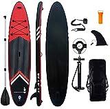 Aufblasbares Stand Up Paddel Board - 10'6'' SUP Board Set | 320x81x15cm | 6 Zoll Dick | Surfboard...