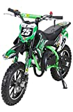 Actionbikes Motors Mini Kinder Crossbike Gepard 49 cc - Scheibenbremsen - Sportluftfilter -...