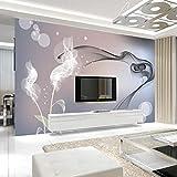 3D-TV-Hintergrund-Tapeten Einfaches und modernes 5D-konkav-konvexes dreidimensionales Wohnzimmer...