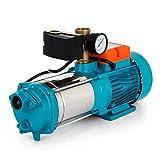 Buoqua Stainless Steel Centrifugal pump 1300W Kreiselpumpe 5100 L/h Gartenpumpe selbstansaugend 5,1...